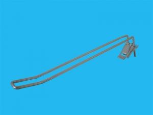 Διπλός γάντζος - Κουμπωτός ασφαλείας (οριζόντιας εξαγωγής)